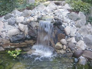 Ponds and Waterfalls Elkhart Indiana